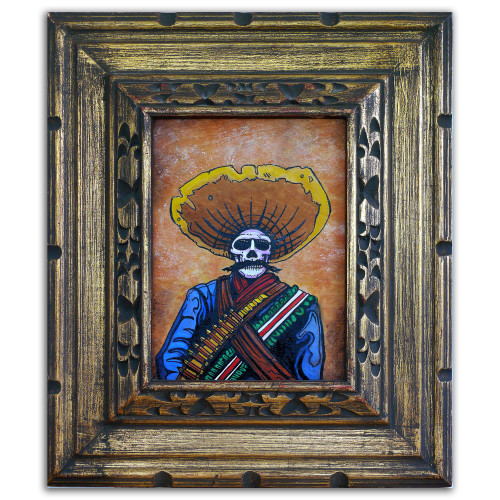 Zapata skeleton portrait