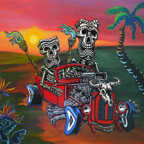 Tiki skeleton