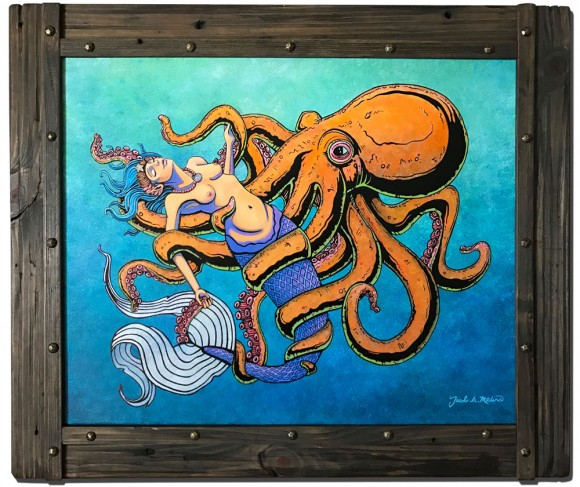 El Sonido de una Sirena Framed