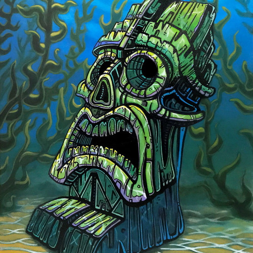 Tiki Wall Art