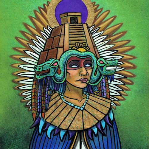 Aztec painting