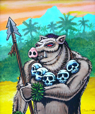 Hawaiian Boar