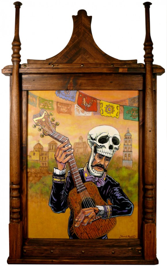 Day of the Dead Mariachi Art