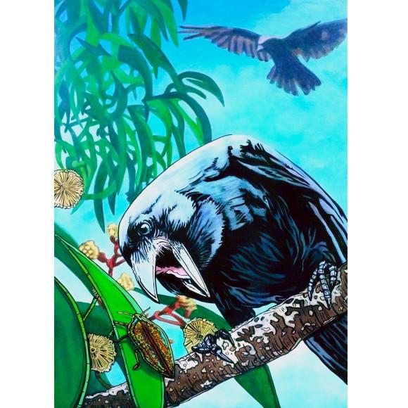 Native Hawaiian Crow