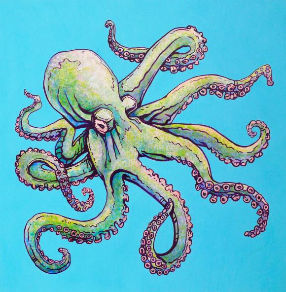 Octopus Art