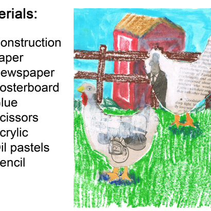 Farm Animal Art Project