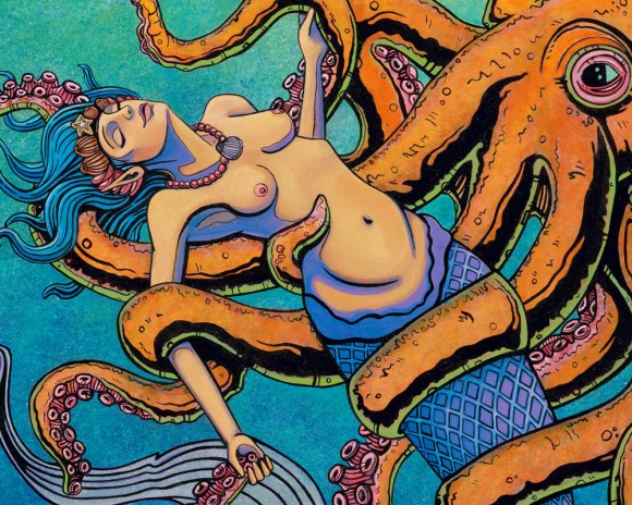 El Sonido de uan Sirena detail