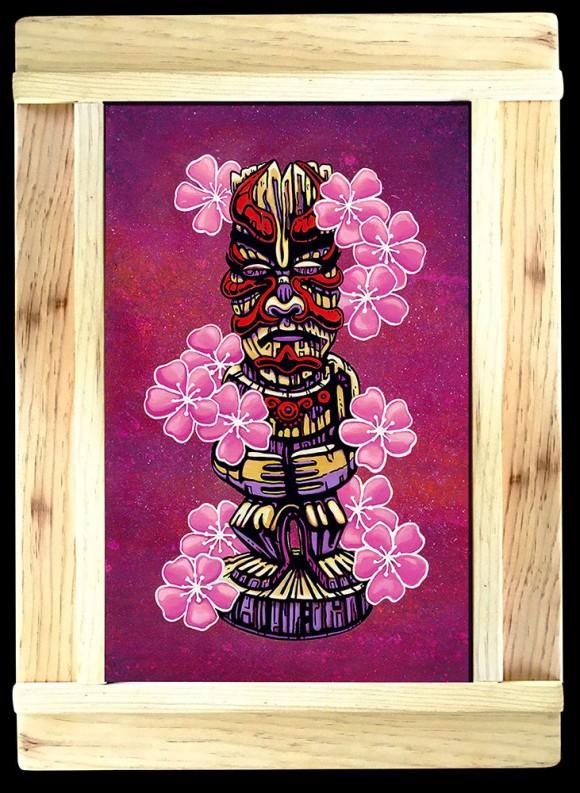 Kabuki_tiki_framed