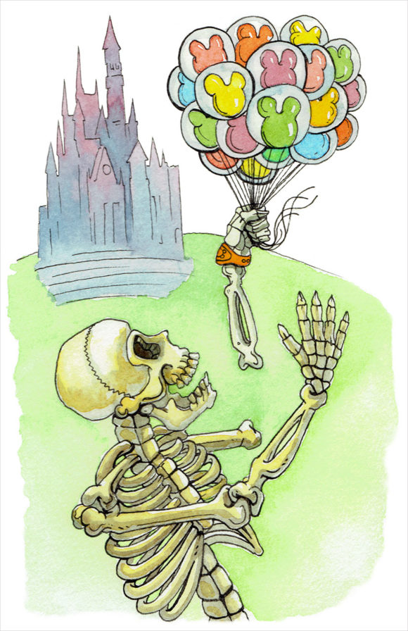 magic skeleton