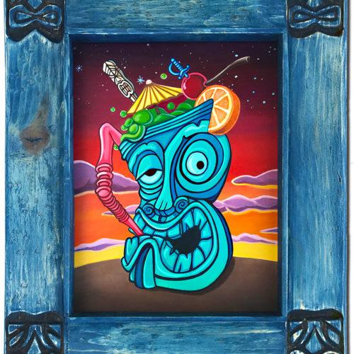 Tiki Mug Art