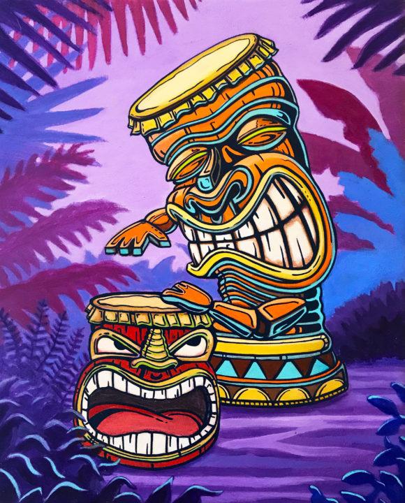 Tiki Drum