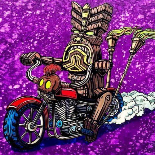 Tiki Motorcycle
