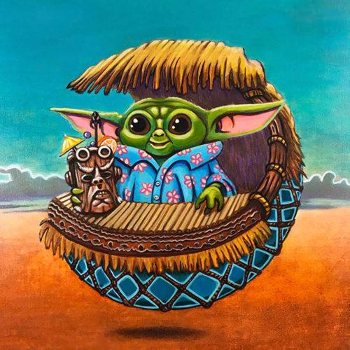 Tiki Baby Yoda